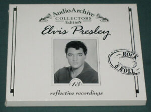 Elvis-Presley-Audio-Archive-Reflective-Recordings-CD-Tring-UK-Like-New