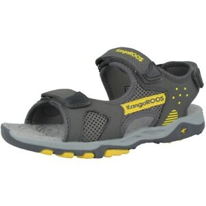 Kangaroos K-celtic Schuhe Sandalen Freizeit Outdoor Sandaletten Grey 18337-2091 Gute WäRmeerhaltung