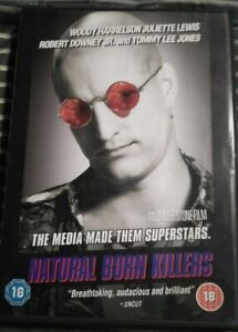NATURAL-BORN-KILLERS-DVD-Region-2-Good-Condition-Free-Shipping