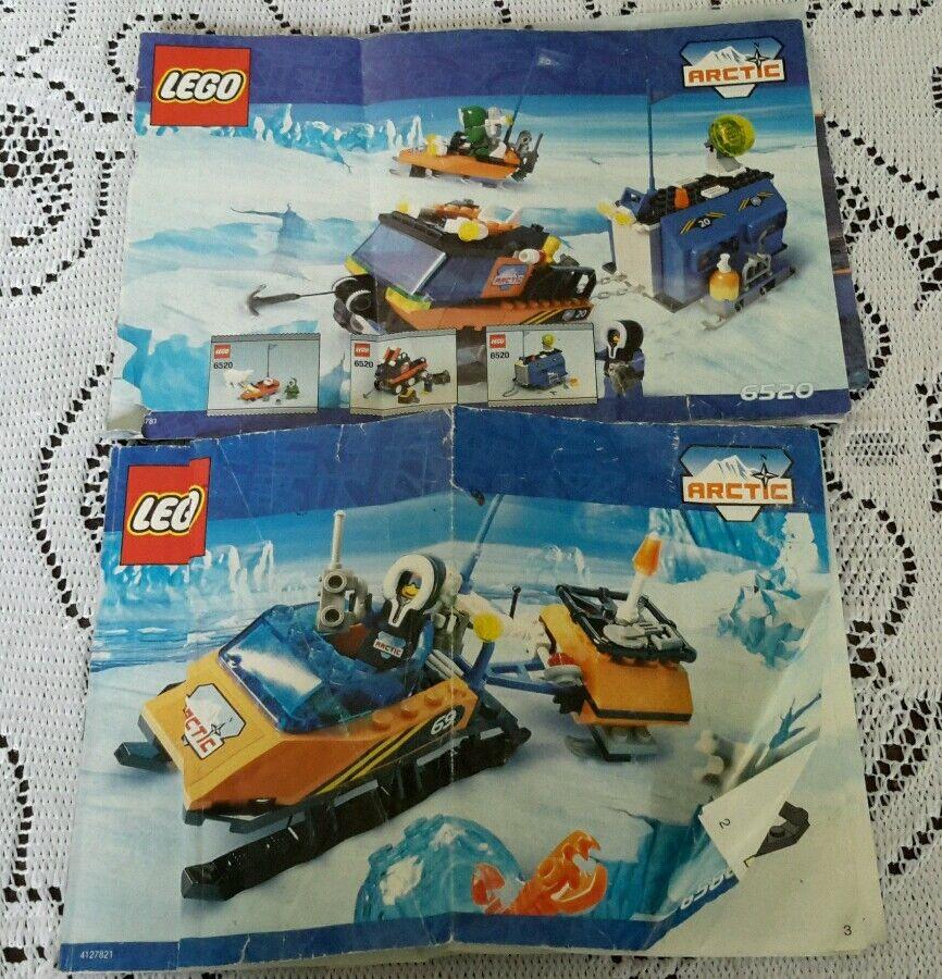 Legos Arktik  6520/6586 Mobile Outpost / Polarscout Anleitung Handbuch Nur