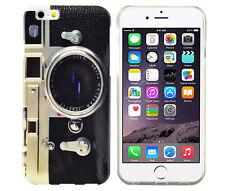 TPU Schutzhüllle f iPhone 6 6S Case Cover Etui Tasche Retro Kamera Fotoapparat