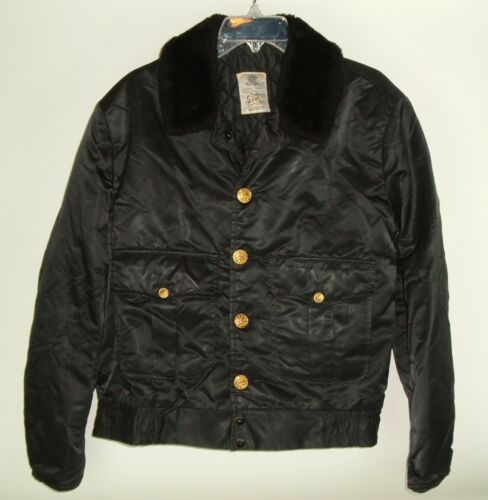 Police Officers Coat Vtg Tuffy Jac Horace Small Si