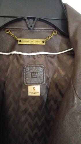 New S brun Manteau 17158900649 Wilson cuir pour femmes en qdOUdC