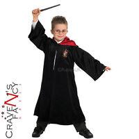 Deluxe Harry Potter Robe Kids Fancy Dress Book Week Boys Girls Costume Outfit