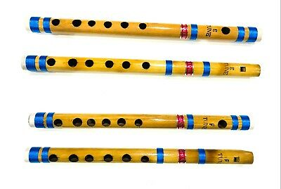 "20"" Bansuri Fipple Transverse Top UK Seller 5 x Professional Bamboo Flutes 13"""