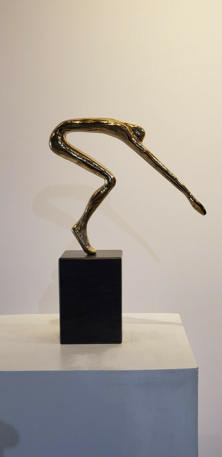 Solid Bronze 'The Diver'  by Greek artist Yanni Limited Edition