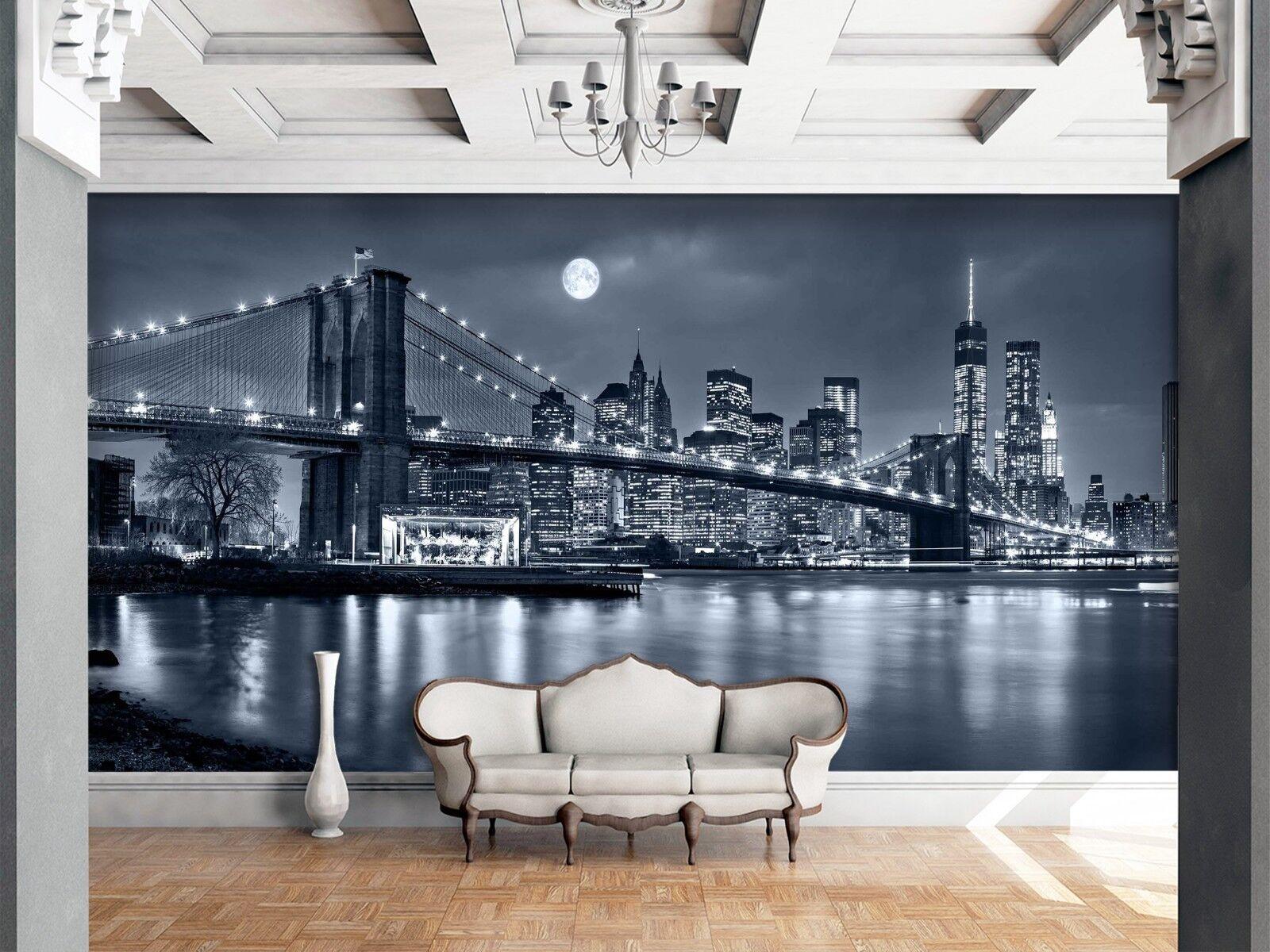 3D 3D 3D Night City 879 Wallpaper Mural Wall Print Wall Wallpaper Murals US Lemon 1d13e2