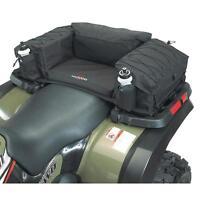Atv Rear Cargo Bag Storage Padded Seat Cushion Rack Box Secure Durable Straps