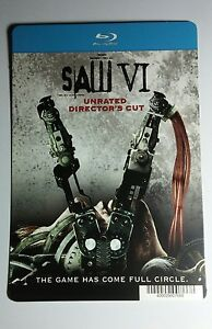 SAW-VI-6-BLURAY-STYLE-COVER-ART-MINI-POSTER-BACKER-CARD-NOT-a-movie