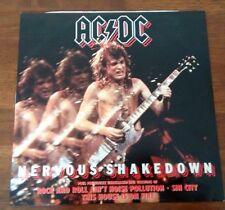 "AC/DC: Nervous Shakedown (4 Track Maxi Disc 12"" Vinyl) Atlantic 1983"