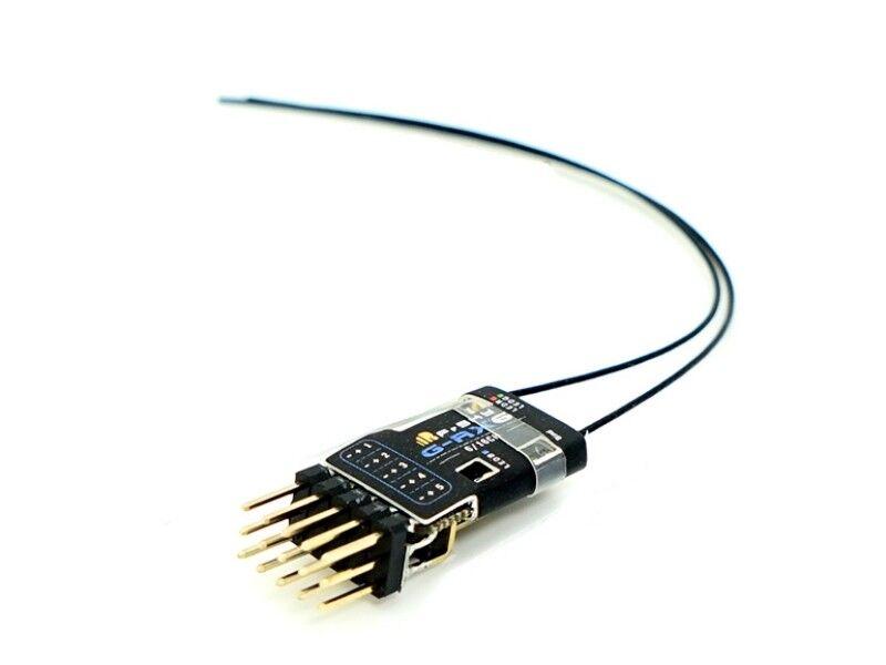 G-rx6 6ch PWM 16ch SBus canales Frsky SBus telemetría destinatario + Vario-función