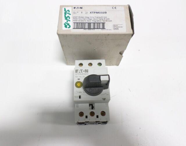 Eaton Manual Motor Protectors XTPM032B 50/60 Hz Uimp 6000v Iec/en ...