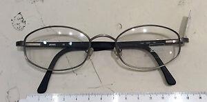 Zeiss-1306-occhiale-nuovo-vintage-anni-90-039-metallo-colore-grigio-opaco