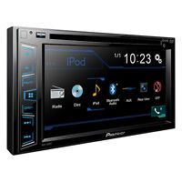 Pioneer 2 Din Avh-290bt Dvd/mp3/cd Player 6.2 Bluetooth Backup Camera Ready