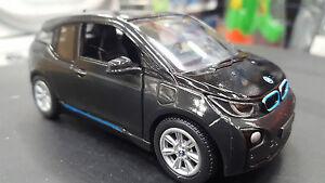 BMW-I3-NUOVO-NERO-1-32-Scala-pressofusione-Automobile-Regalo