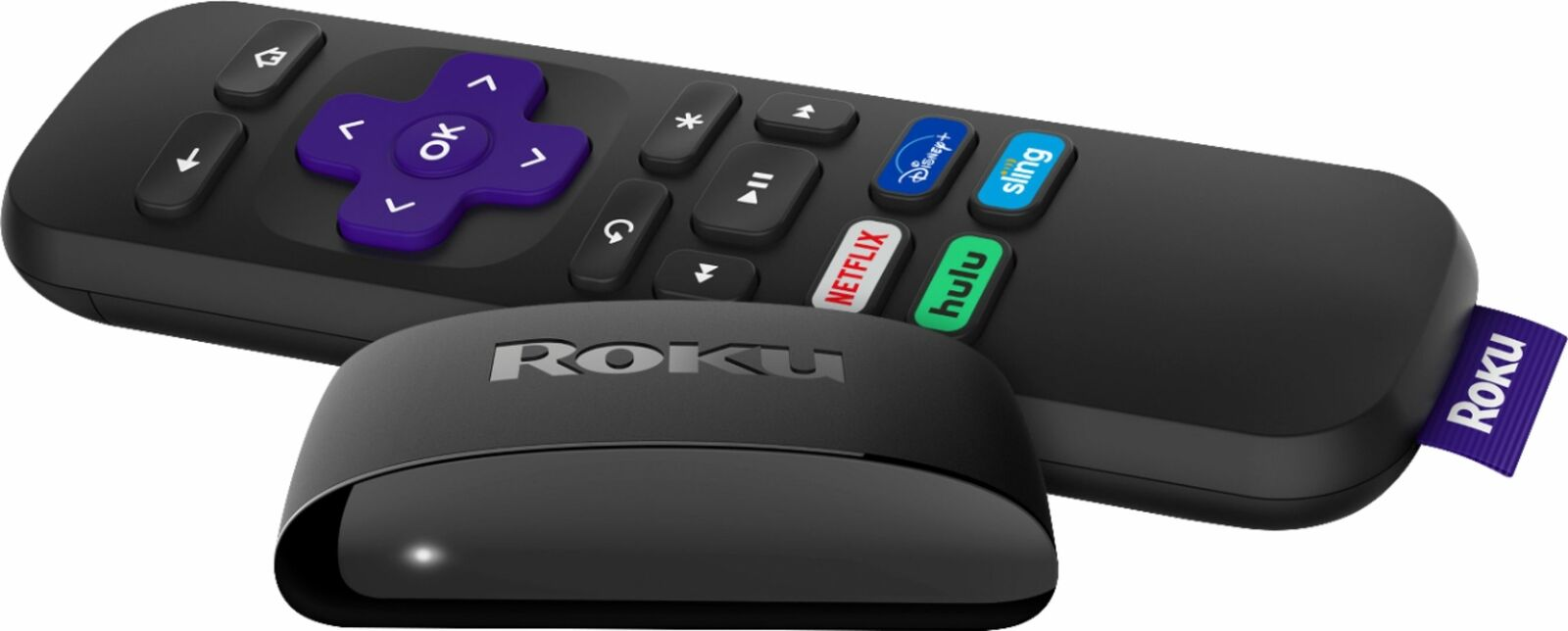 3930R best_buy Roku - Express HD Streaming Media Player with High Speed HDMI Cable and Simpl...