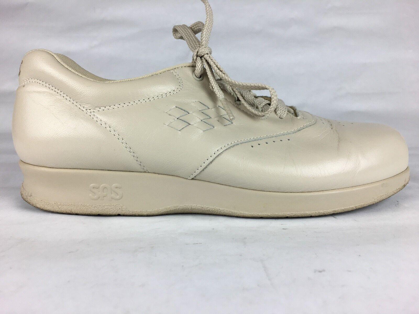 SAS Free Time Womens Sz 8.5 M Medium Bone Comfort Diabetic Walking shoes