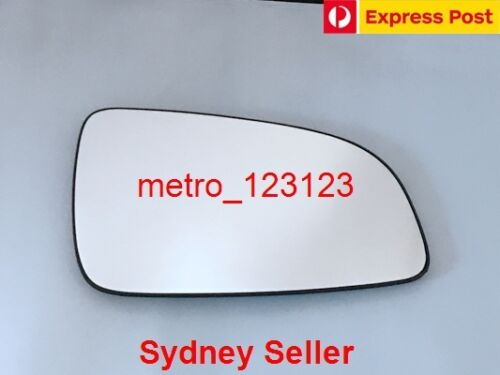 RIGHT DRIVER SIDE HOLDEN ASTRA 2005-2009 MIRROR GLASS WITH HEATED PLATE AH