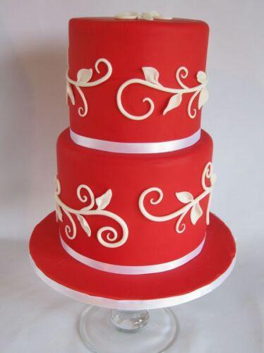 Massa Taffeta Fondant Sugar Paste Ready Rolled Icing Cake Craft Rosy Pink