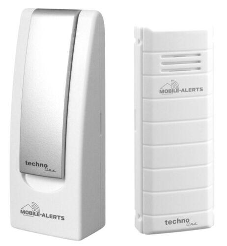 TECHNOLINE MOBILE ALERTS STARTERSET MA 10001 HAUS-ÜBERWACHUNGS-SYSTEM APP CLOUD