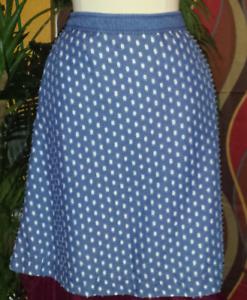 LANE BRYANT NWT  80 size 16 women's A-line skirt bluee jean denim summer