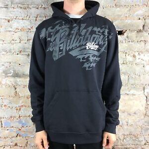 Ebay M Sweatshirt Hooded Timeless Billabong Hoodie Navy S twYW0qf