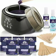 Lansley Home Waxing Kit For Hair Removal Pearl Wax Melting Pot