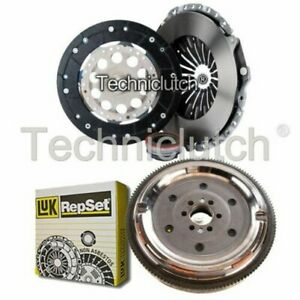 NATIONWIDE 3 PART CLUTCH KIT AND LUK DMF FOR AUDI A6 BERLINA 1.8 T QUATTRO