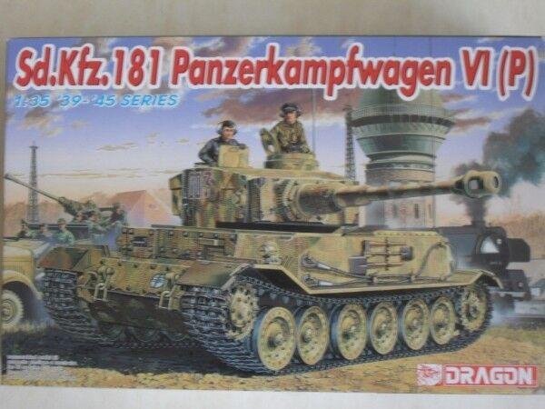 Dragon 1 35 6210 Sd.Kfz.181 Pz.Kpfw VI (P)