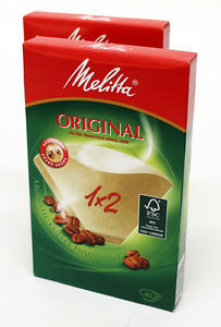 2-confezioni-ORIGINALE-Melitta-Caffe-Filtri-1-x-2-Pacco-di-40-80087x2