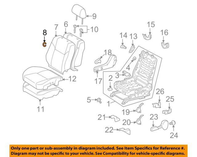 TOYOTA Genuine 71960-52660-C1 Headrest Assembly
