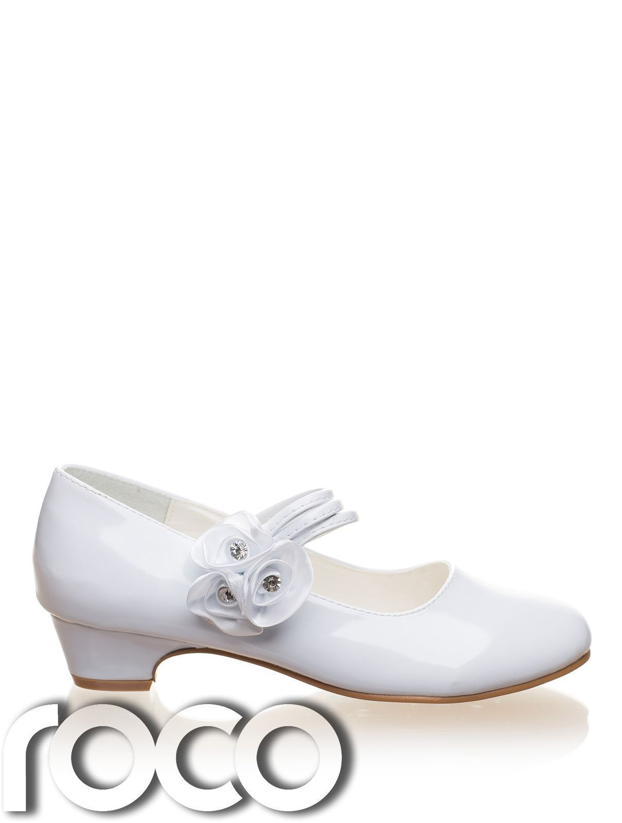 Girls White Shoes Communion Shoes Prom Shoes Flower Girl Shoes