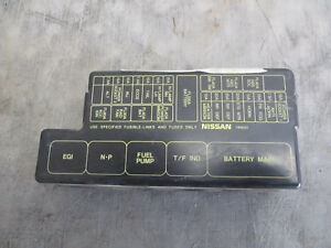image is loading fuse-box-cover-3-3-v6-nissan-pathfinder-