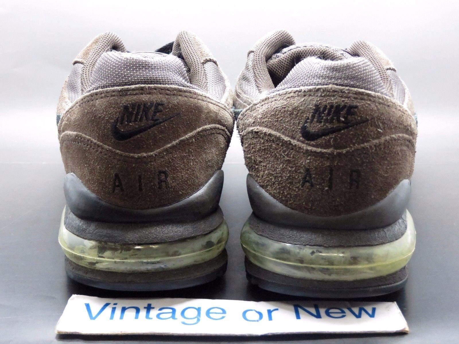 Nike air max brach dunkle asche schwarzen Braun schwarzen asche wildleder laufschuhe 2003 sz. 2f76e8