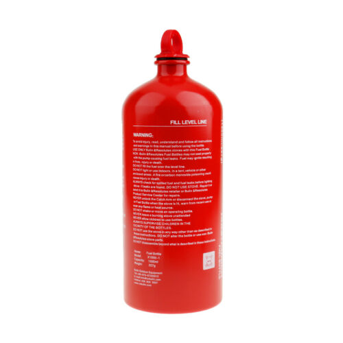 New 1500ml Gas Oil Fuel Bottle Motorcycle Emergency Petrol Gasoline Canister