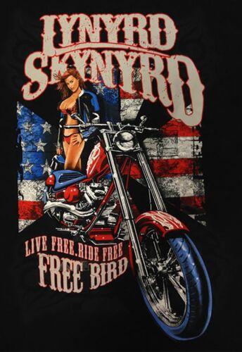 Lynyrd Skynyrd Iron On Transfer For T-Shirt /& Other Light Color Fabrics #1