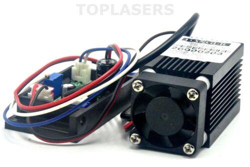Non-Focusable 100mW 635nm Orange Red Laser Dot Module w TTL Stage Lights 12V