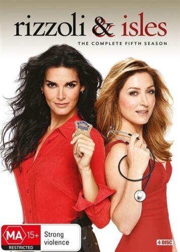 1 of 1 - Rizzoli & Isles : Season 5 (DVD, 2016, 4-Disc Set) R4 Pal - Like New