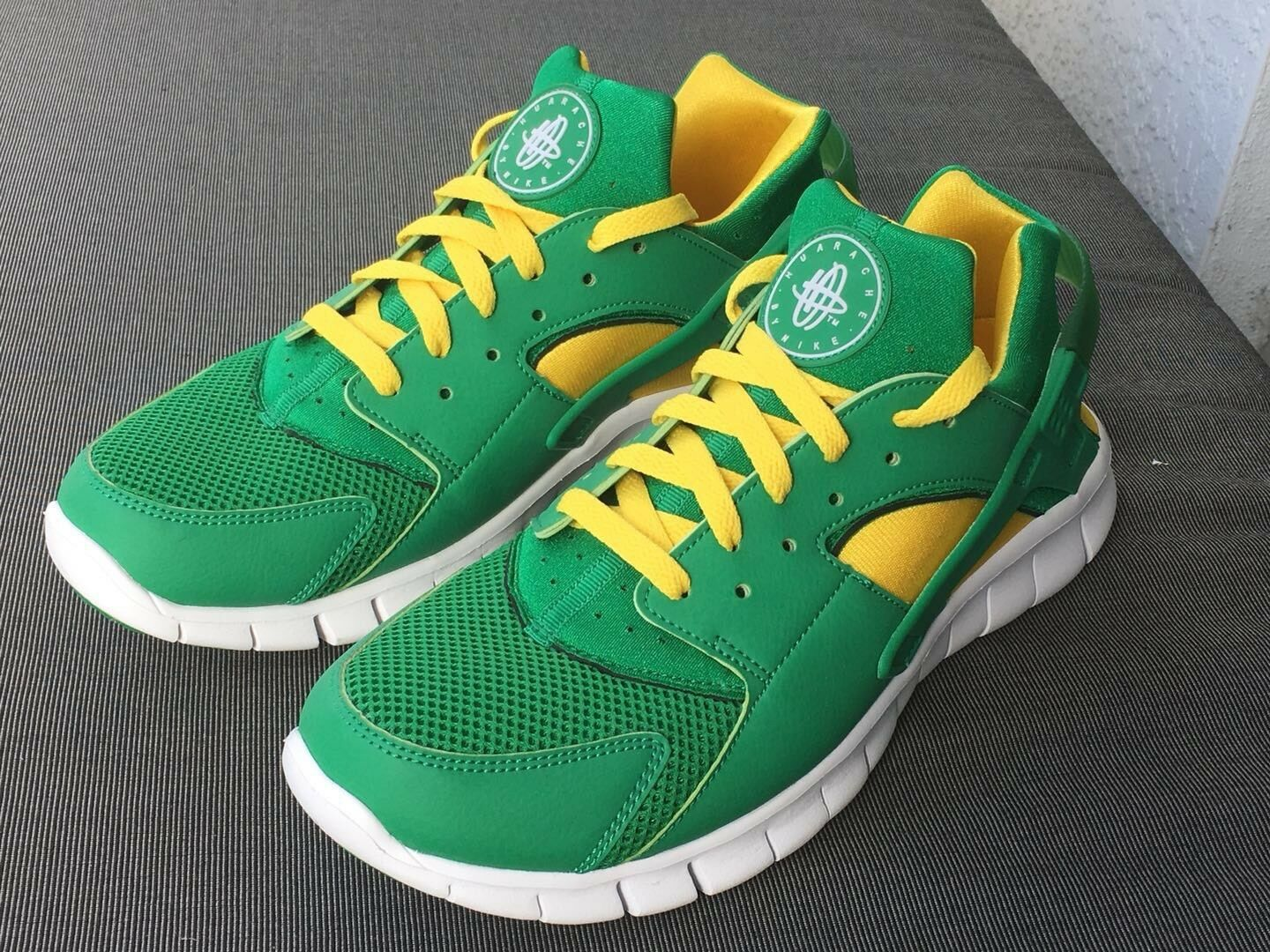 Cheap women's shoes women's shoes New Nike Huarache Oregon Ducks Sneakers Men Sz 10 W 11.5 Jordan Yeezy Hu