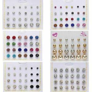 12Pairs-Set-Charm-Crystal-Zircon-Stainless-Steel-Earrings-Women-Ear-Stud-Jewelry