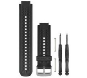 Garmin-Forerunner-25-Replacement-Watch-Band-Black-Red-Large-010-11251-68