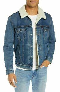 Levis-Sherpa-Jacket-Mens-Lined-Denim-Jacket-Blue-0040