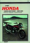 Honda CB900-1100 Fours, 1980-83: Clymer Workshop Manual by Clymer Publications, Ed Scott (Paperback, 1984)