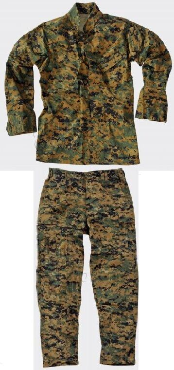 US Marines USMC Woodland MARPAT Woodland USMC Numérique Armée Treillis félin Pantalon Veste Small Regular 4e3f6a