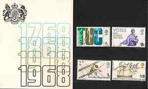 GB-1968-British-Anniversaries-Presentation-Pack