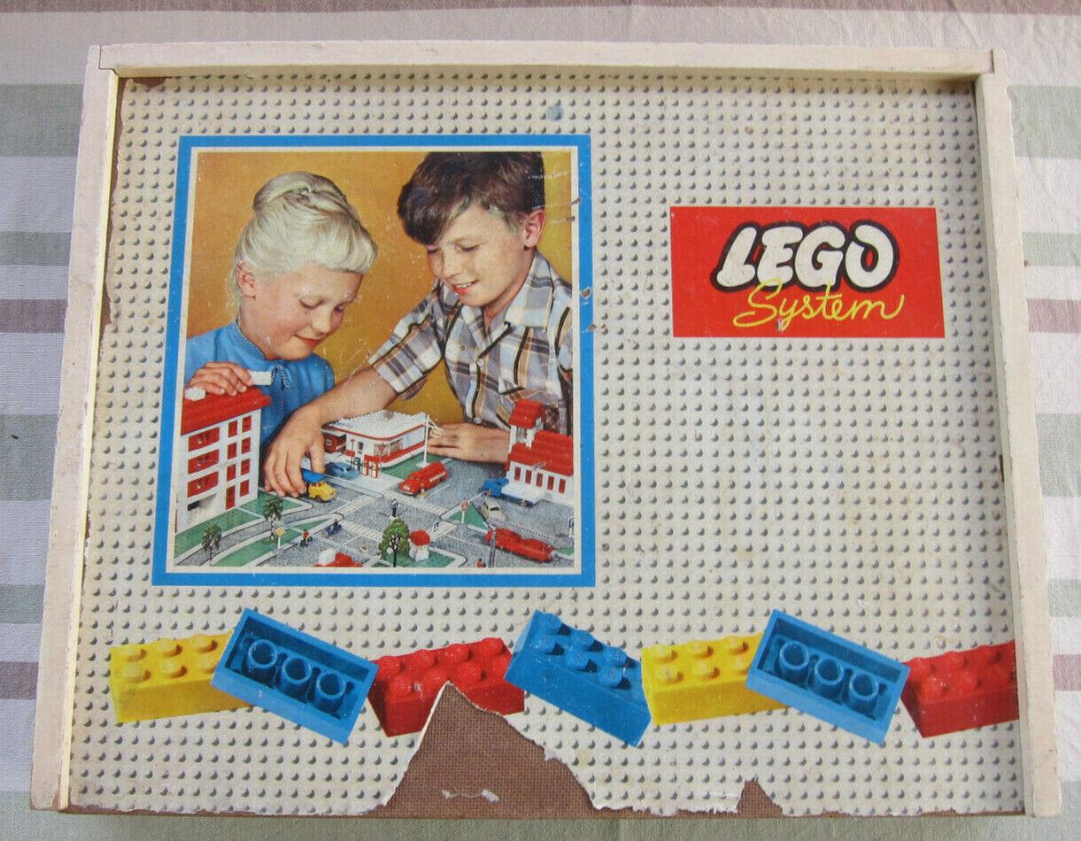 Original LEGO Baukasten  System im Spiel  50 60er Jahre, gut gefüllt