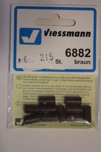 Viessmann 6882 10 St Muffen braun  OVP  St.//0,22 €