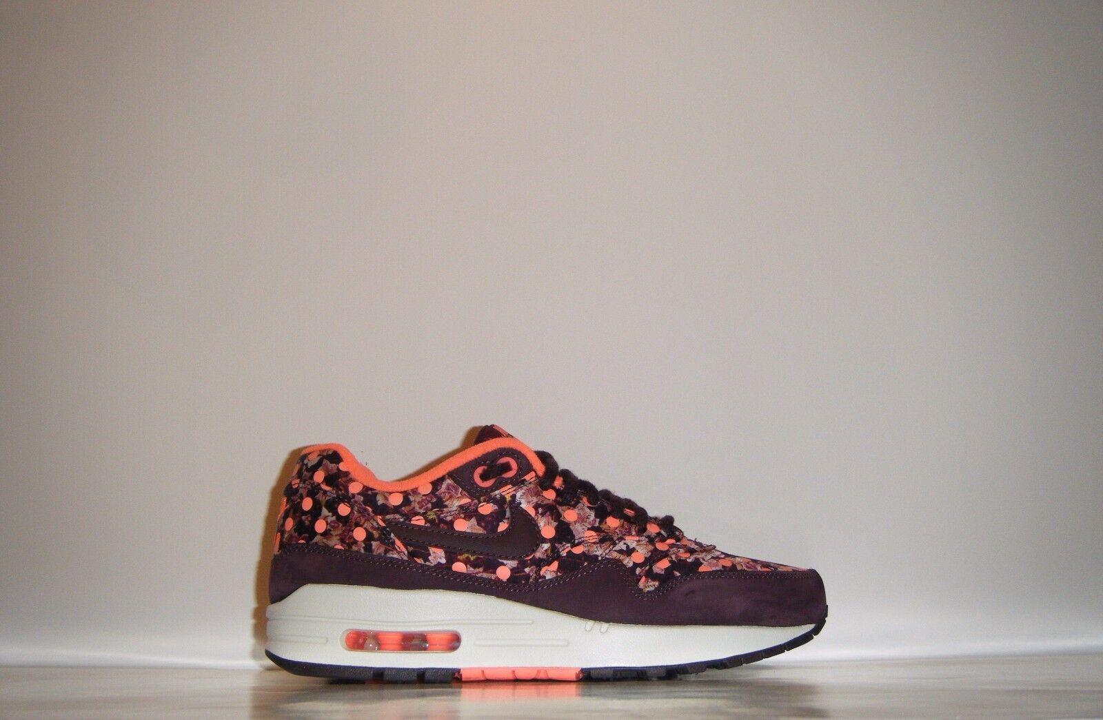 detailed look b681a 387ab ... Womens 2014 Nike Air Max 1 LIB LIB LIB Premium Liberty Of London QS Sz  5.5