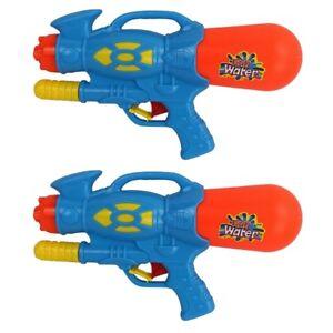 2-x-Water-Guns-Large-30cmPump-Action-Super-Spray-Shooter-Soaker-Battle-Toys-927