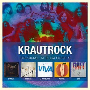 Krautrock-Original-Album-Series-5-CD-43-Tracks-NEU-Ritter-PARZIVAL-Asterix-Geschenk